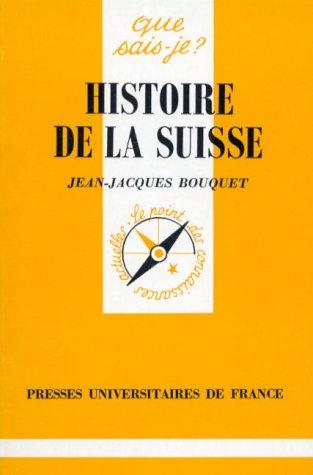 9782130472964: Histoire de la Suisse