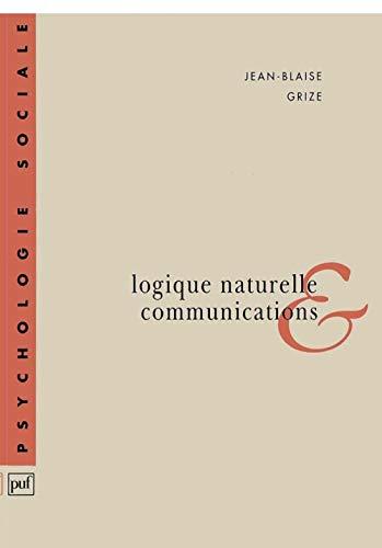 IAD - LOGIQUE NATURELLE ET COMMUNICATIONS: GRIZE JEAN-BLAISE