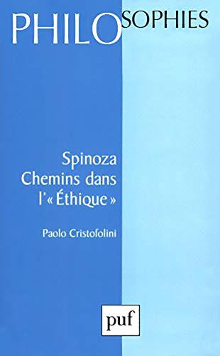 9782130474968: Spinoza chemins dans l'éthique n.69 (Philosophes)