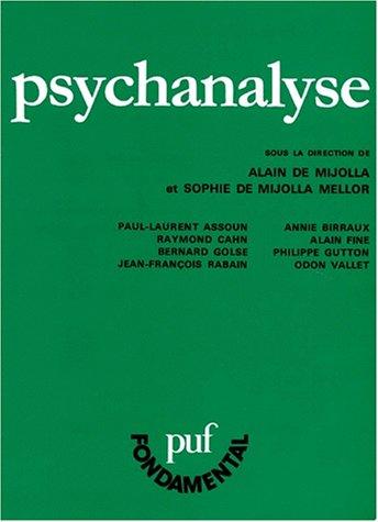 9782130475590: Psychanalyse (Fondamental)