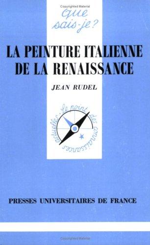 9782130475859: La peinture italienne de la Renaissance