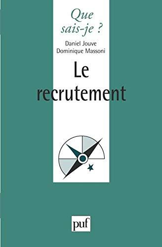 9782130477365: Le Recrutement