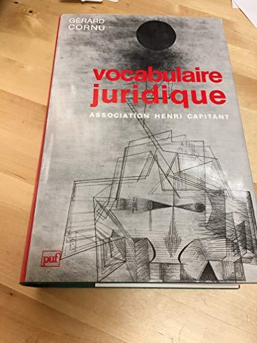 9782130478225: Vocabulaire juridique