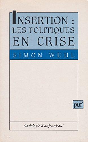 Insertion : Les politiques en crise: Simon Wuhl