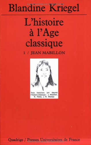 9782130479017: L'Histoire de l'âge classique, coffret de 4 volumes