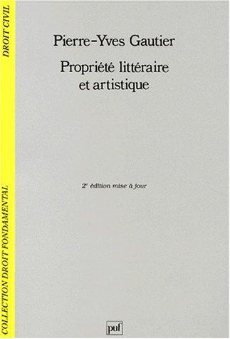 9782130479468: Propriété littéraire et artistique