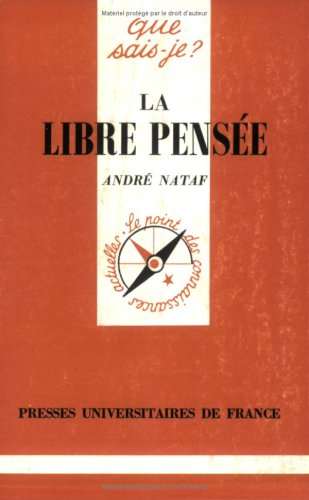 9782130479673: La Libre Pensée