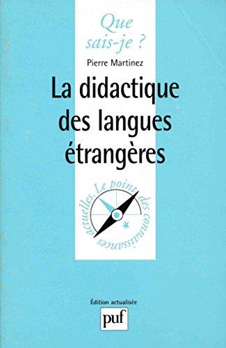 9782130480082: La didactique des langues étrangères