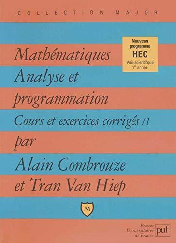 9782130480549: Mathématiques : Analyse et programmation