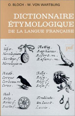 9782130480914: Dictionnaire étymologique de la langue française (Relié)