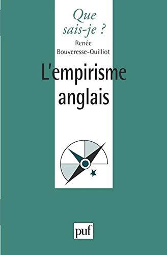 9782130482567: L'EMPIRISME ANGLAIS. Locke, Berkeley, Hume, 1ère édition