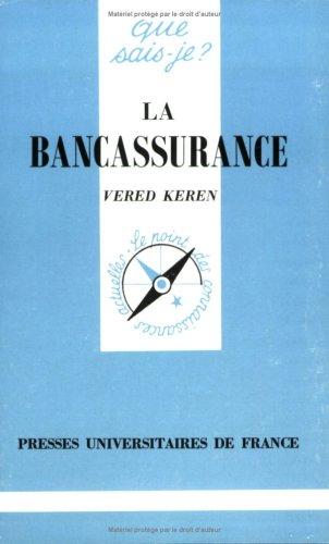 9782130485964: La Bancassurance
