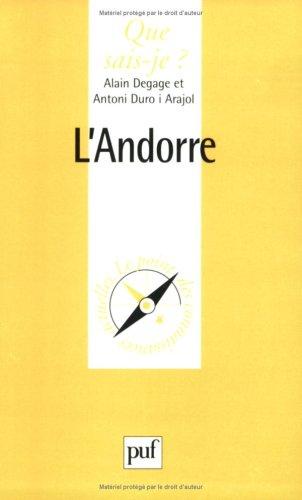 9782130487883: L'Andorre