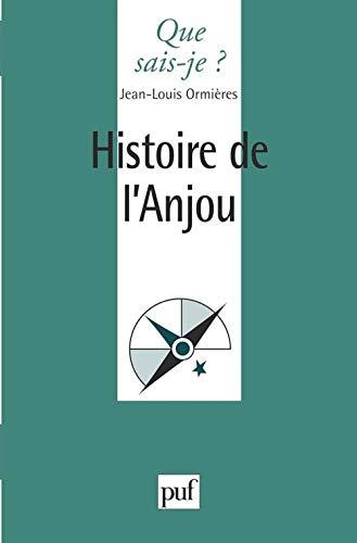 9782130488316: Histoire de l'Anjou