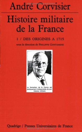 9782130489573: Histoire militaire de la France, coffret de 4 volumes