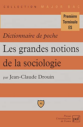 9782130489948: Dictionnaire poche grandes notions soc.