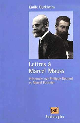 9782130490999: Lettres a Marcel Mauss (Sociologies) (English, French and French Edition)