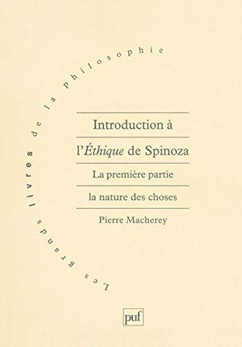 9782130491385: Introduction à l'éthique, de Spinoza