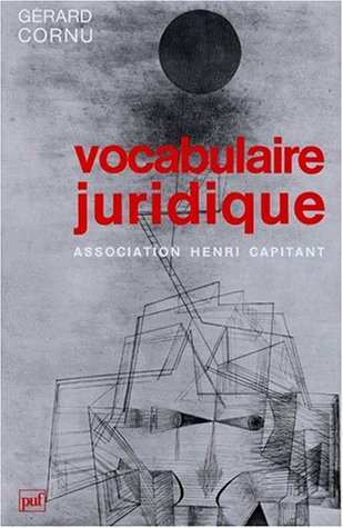9782130492894: Vocabulaire juridique