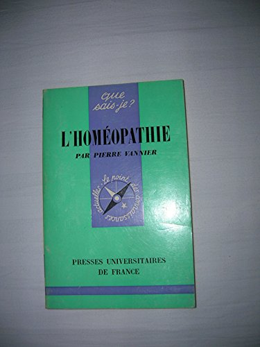 9782130493723: L'Homéopathie