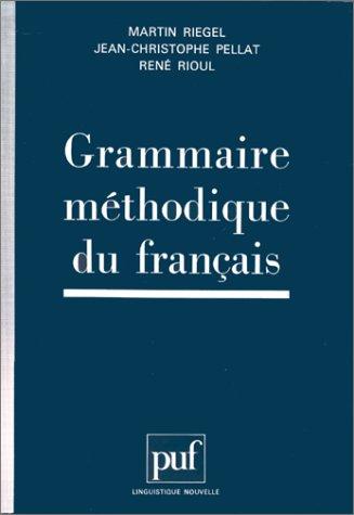 9782130494065: Grammaire méthodique du français