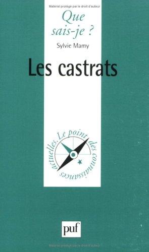 9782130495031: Les Castrats