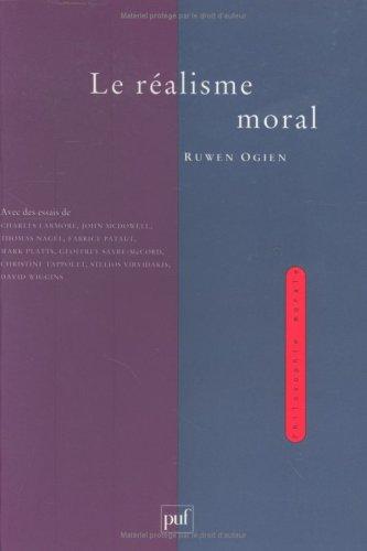 9782130496007: Le réalisme moral (Philosophie morale) (French Edition)