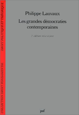9782130496182: Les Grandes Démocraties contemporaines