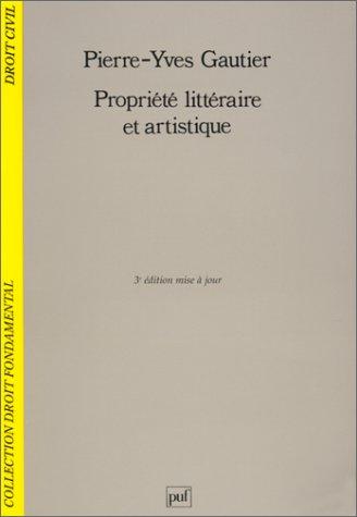 9782130497974: Propriété littéraire et artistique