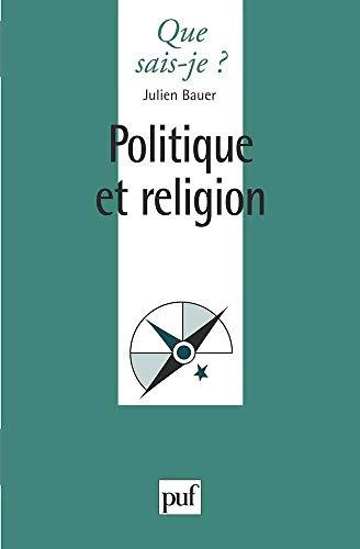 9782130499022: Politique et Religion