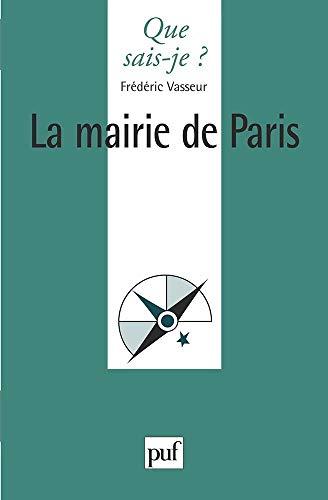 9782130500100: La Mairie de Paris