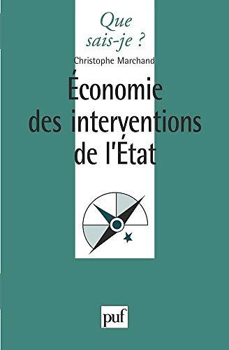 9782130500742: Économie des interventions de l'état