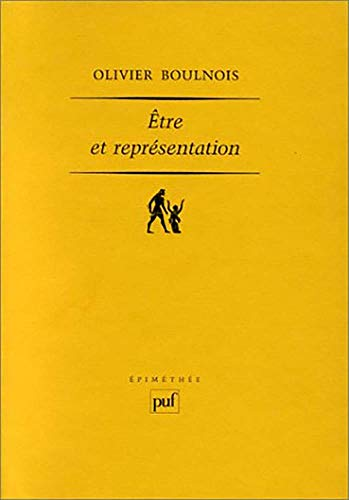 9782130504566: Etre et représentation : Une généalogie de la métaphysique moderne à l'époque de Duns Scot (XIIIe - XIVe siècle) (Epiméthée)
