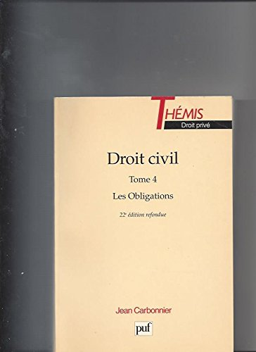 9782130505259: Droit civil t.4 les obligations