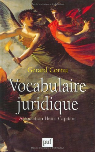 9782130506003: VOCABULAIRE JURIDIQUE. 8ème édition