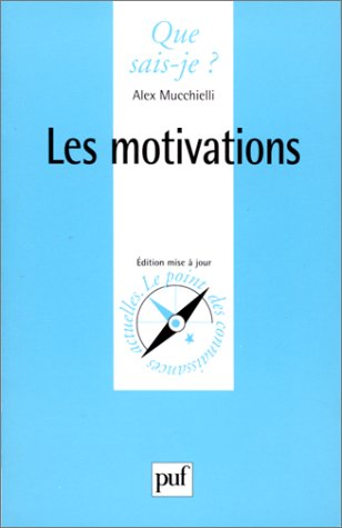 9782130506041: Les Motivations