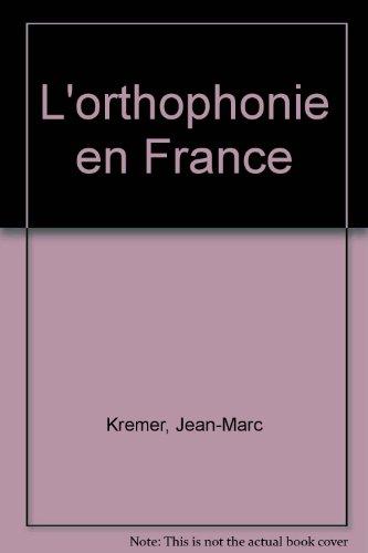 9782130506867: L'Orthophonie en France