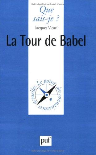 9782130507017: La Tour de Babel