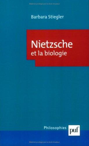 9782130507420: Nietzsche et la biologie