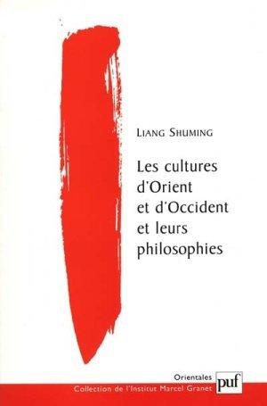 9782130509783: Les cultures d'orient et d'occident et leurs philosophies