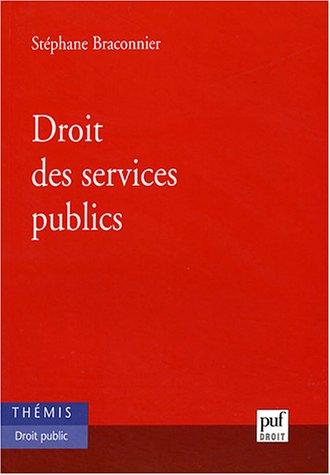 9782130509868: Droit des services publics