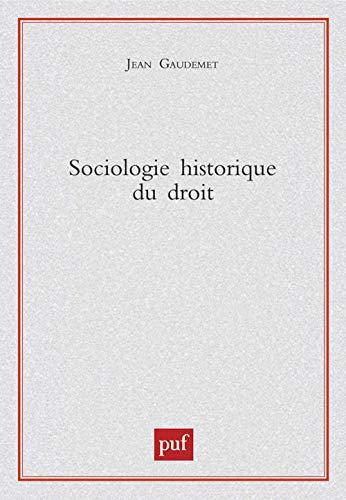 9782130511410: Sociologie historique du droit