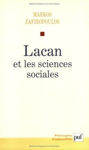 9782130514602: Lacan et les sciences sociales. : Le d�clin du p�re (1938-1953)