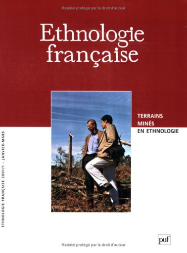 Revue ethnologie française n 1 2001 - janvier mars (French Edition): Collectif