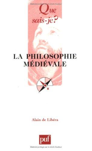 9782130515807: La philosophie médiévale (Que sais-je ?)