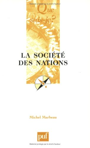 9782130516354: La Société des Nations