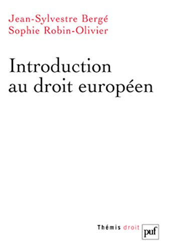 9782130516392: Introduction au droit europ�en