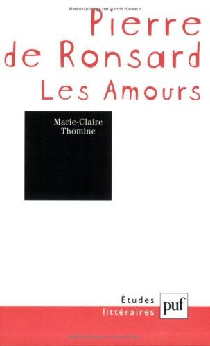 9782130516514: Pierre de Ronsard : Les Amours