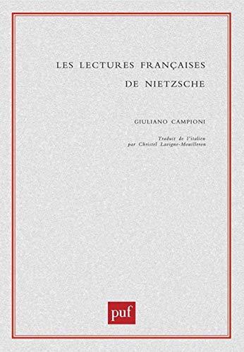 9782130516941: Les Lectures Françaises de Nietzsche