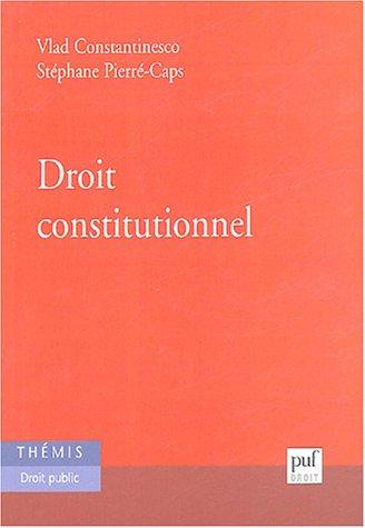 9782130517375: Droit constitutionnel